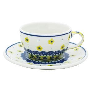 カップ&ソーサー No.240 Ceramika Artystyczna ( セラミカ / ツェラミカ ) ポーリッシュポタリー|ceramika-artystyczna