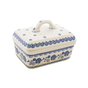 バターディッシュ No.2066 Ceramika Artystyczna ( セラミカ / ツェラミカ ) ポーリッシュポタリー|ceramika-artystyczna
