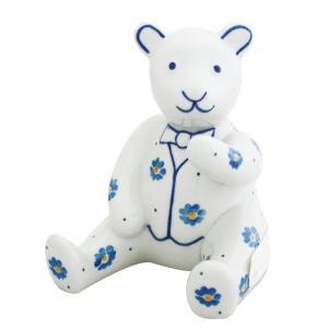 くま No.845 Ceramika Artystyczna ( セラミカ / ツェラミカ ) ポーリッシュポタリー 置物|ceramika-artystyczna