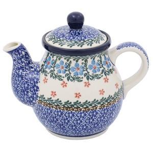 ティーポット0.6L No.1644X Ceramika Artystyczna ( セラミカ / ツェラミカ ) ポーリッシュポタリー|ceramika-artystyczna