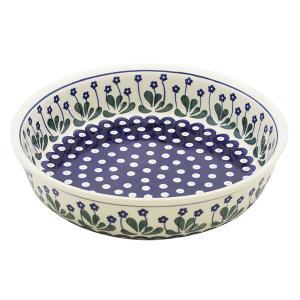 ラウンドオーブンディッシュ No.377Y Ceramika Artystyczna ( セラミカ / ツェラミカ ) ポーリッシュポタリー|ceramika-artystyczna
