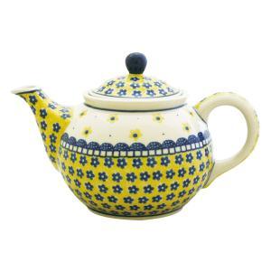 ティーポット0.9LNo.240 Ceramika Artystyczna ( セラミカ / ツェラミカ ) ポーリッシュポタリー|ceramika-artystyczna