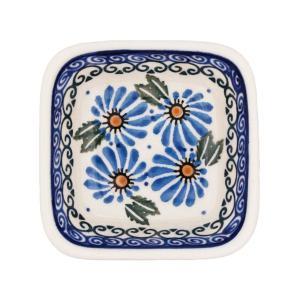 ポーランド食器 スクエアボウルミニ Ceramika Artystyczna ( セラミカ / ツェラミカ )No.835|ceramika-artystyczna