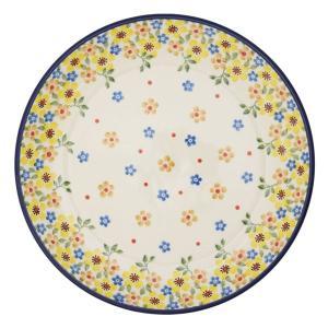 限定柄 20cmプレート No.2225X Ceramika Artystyczna ( セラミカ / ツェラミカ ) ハンドメイドのポーランド食器 ・ 陶器|ceramika-artystyczna