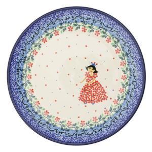 限定柄 20cmプレート No.2286X Ceramika Artystyczna ( セラミカ / ツェラミカ ) ハンドメイドのポーランド食器 ・ 陶器|ceramika-artystyczna