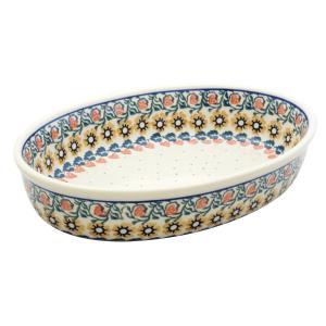オーブンディッシュ28cm No.858 Ceramika Artystyczna ( セラミカ / ツェラミカ ) ポーリッシュポタリー ceramika-artystyczna