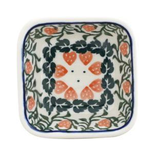 ポーランド食器 スクエアボウルミニ Ceramika Artystyczna ( セラミカ / ツェラミカ )No.858 ceramika-artystyczna