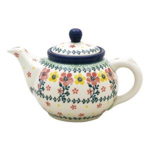 ティーポット0.4L No.2355X Ceramika Artystyczna ( セラミカ / ツェラミカ ) ポーリッシュポタリー|ceramika-artystyczna