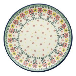 24cmプレート No.2355X Ceramika Artystyczna ( セラミカ / ツェラミカ ) ポーリッシュポタリー|ceramika-artystyczna