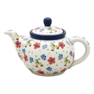 ティーポット0.4L No.2354X Ceramika Artystyczna ( セラミカ / ツェラミカ ) ポーリッシュポタリー|ceramika-artystyczna