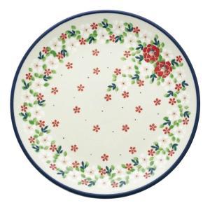 24cmプレート No.2352X Ceramika Artystyczna ( セラミカ / ツェラミカ ) ポーリッシュポタリー|ceramika-artystyczna