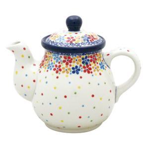 ティーポット0.6L No.2321X Ceramika Artystyczna ( セラミカ / ツェラミカ ) ポーリッシュポタリー|ceramika-artystyczna