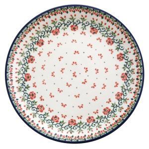 24cmプレート No.1965X Ceramika Artystyczna ( セラミカ / ツェラミカ ) ポーリッシュポタリー|ceramika-artystyczna