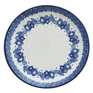 24cmプレート No.2327X Ceramika Artystyczna ( セラミカ / ツェラミカ ) ポーリッシュポタリー|ceramika-artystyczna
