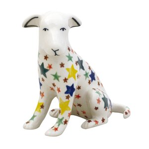 犬4 No.359 Ceramika Artystyczna ( セラミカ / ツェラミカ ) ポーリッシュポタリー 置物|ceramika-artystyczna