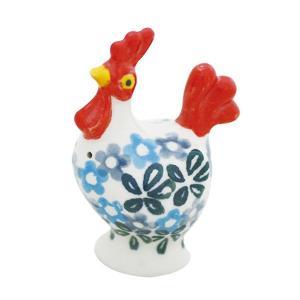 ニワトリ塩入れ (オス) No.802 Ceramika Artystyczna ( セラミカ / ツェラミカ ) ポーリッシュポタリー 置物 ceramika-artystyczna