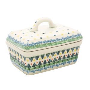 バターディッシュ No.2279 Ceramika Artystyczna ( セラミカ / ツェラミカ ) ポーリッシュポタリー ceramika-artystyczna