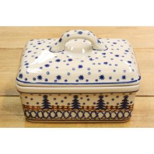 バターディッシュ No.339 Ceramika Artystyczna ( セラミカ / ツェラミカ ) ポーリッシュポタリー|ceramika-artystyczna