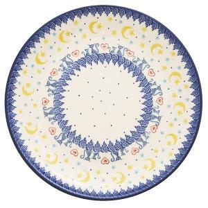 24cmプレート No.1403X Ceramika Artystyczna ( セラミカ / ツェラミカ ) ポーリッシュポタリー ceramika-artystyczna