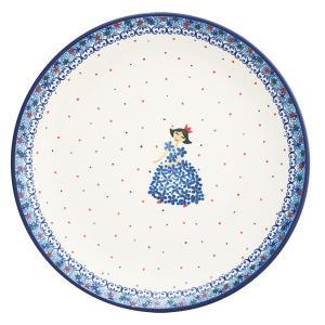24cmプレート No.2285X Ceramika Artystyczna ( セラミカ / ツェラミカ ) ポーリッシュポタリー|ceramika-artystyczna
