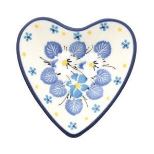 ハートプレート No.2351X Ceramika Artystyczna ( セラミカ / ツェラミカ ) ポーリッシュポタリー|ceramika-artystyczna
