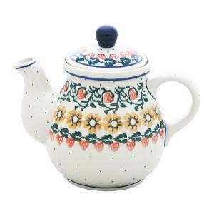 ティーポット0.6L No.858 Ceramika Artystyczna ( セラミカ / ツェラミカ ) ポーリッシュポタリー|ceramika-artystyczna