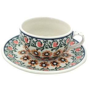 カップ&ソーサー No.858 Ceramika Artystyczna ( セラミカ / ツェラミカ ) ポーリッシュポタリー ceramika-artystyczna