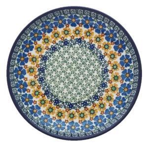 24cmプレート No.U4-587 Ceramika Artystyczna ( セラミカ / ツェラミカ ) ポーリッシュポタリー|ceramika-artystyczna