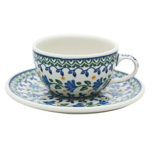 カップ&ソーサー No.883 Ceramika Artystyczna ( セラミカ / ツェラミカ ) ポーリッシュポタリー|ceramika-artystyczna