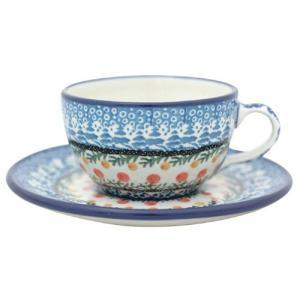 カップ&ソーサー No.U3-555 Ceramika Artystyczna ( セラミカ / ツェラミカ ) ポーリッシュポタリー|ceramika-artystyczna