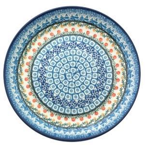 24cmプレート No.U3-555 Ceramika Artystyczna ( セラミカ / ツェラミカ ) ポーリッシュポタリー|ceramika-artystyczna