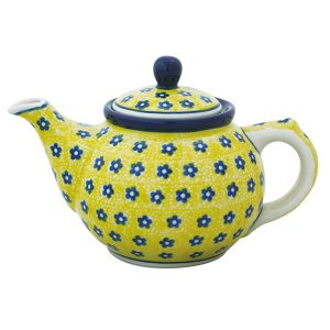 ティーポット0.4L No.242 Ceramika Artystyczna ( セラミカ / ツェラミカ ) ポーリッシュポタリー|ceramika-artystyczna