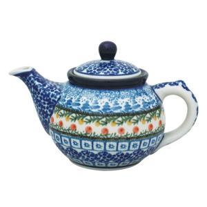 ティーポット0.4L No.U3-555 Ceramika Artystyczna ( セラミカ / ツェラミカ ) ポーリッシュポタリー|ceramika-artystyczna