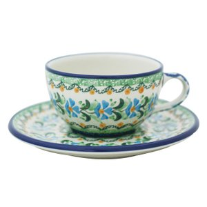 カップ&ソーサー No.U3-620 Ceramika Artystyczna ( セラミカ / ツェラミカ ) ポーランド食器|ceramika-artystyczna