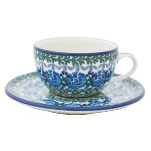 カップ&ソーサー No.U3-737 Ceramika Artystyczna ( セラミカ / ツェラミカ ) ポーリッシュポタリー|ceramika-artystyczna
