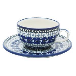 カップ&ソーサー No.U3-843 Ceramika Artystyczna ( セラミカ / ツェラミカ ) ポーリッシュポタリー|ceramika-artystyczna