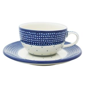 カップ&ソーサー No.U4-107 Ceramika Artystyczna ( セラミカ / ツェラミカ ) ポーリッシュポタリー|ceramika-artystyczna