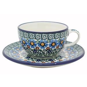 カップ&ソーサー No.U4-587 Ceramika Artystyczna ( セラミカ / ツェラミカ ) ポーリッシュポタリー|ceramika-artystyczna