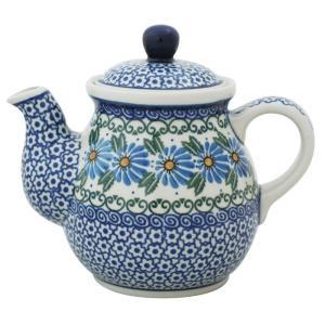 ティーポット0.6L No.835 Ceramika Artystyczna ( セラミカ / ツェラミカ ) ポーリッシュポタリー|ceramika-artystyczna
