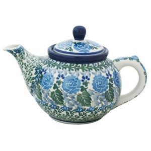 ティーポット0.4L No.U3-737 Ceramika Artystyczna ( セラミカ / ツェラミカ ) ポーリッシュポタリー|ceramika-artystyczna