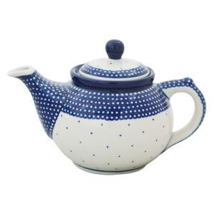 ティーポット0.4L No.U4-107 Ceramika Artystyczna ( セラミカ / ツェラミカ ) ポーリッシュポタリー|ceramika-artystyczna