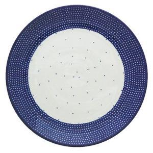 24cmプレート No.U4-107 Ceramika Artystyczna ( セラミカ / ツェラミカ ) ポーリッシュポタリー|ceramika-artystyczna