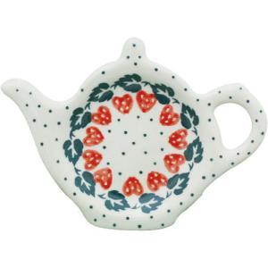 ティーバッグプレート No.858 Ceramika Artystyczna ( セラミカ / ツェラミカ ) ポーリッシュポタリー|ceramika-artystyczna