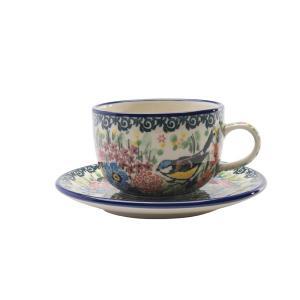 紅茶を飲むのに適した形のカップ&ソーサー。紅茶は高温で抽出するとおいしく作れるため、カップは口径が大...