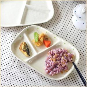 和食器テイストのランチプレートです♪  和の落ち着きと洋のスタイリッシュで オシャレな食卓になりそう...