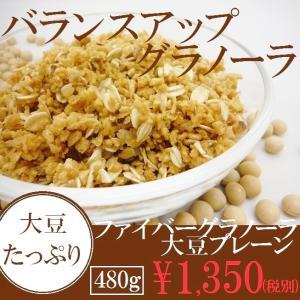 ファイバーグラノーラ 大豆プレーン 480g|cereales
