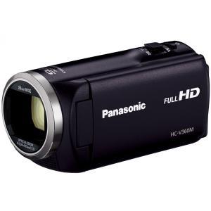 パナソニック デジタルハイビジョンビデオカメラHC-V360M K(ブラック) HC-V360M-K(新品・即納)