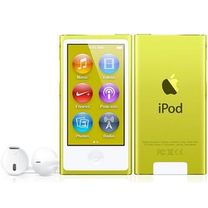 Apple iPod nano 16GB イエロー MD476J/A 第7世代 MD476JA[新品・即納]