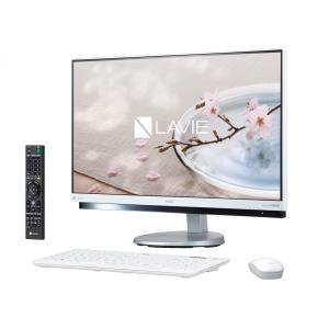 NEC デスクトップパソコン LAVIE Desk All-in-one DA770/GAR PC-DA770GAW ファインホワイト(新品・即納)|ceresu-syouji