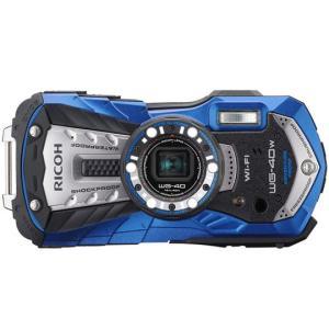 リコー デジタルカメラ「RICOH WG-40W」(ブルー)※Wi-Fi内蔵モデル RICOH WG40W WG-40W-BL新品・即納|ceresu-syouji